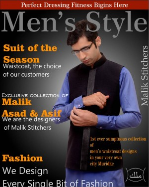 Designer of Mens Waistcoats
