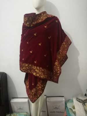 Master Copy of Designer's Velvet Shawl