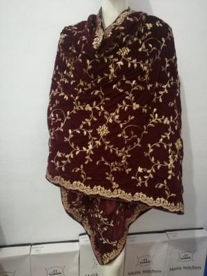 Maria Bi Velvet Shawl Design