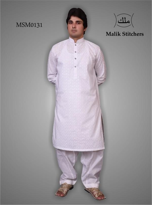 Men's Chicken Cotton Kurta With Ketti Shalwar