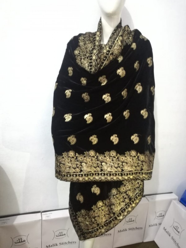 Fully Embroidered Ladies Shawls