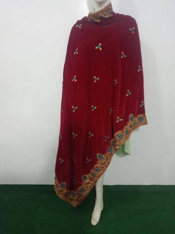 Velvet Shawl Pakistani