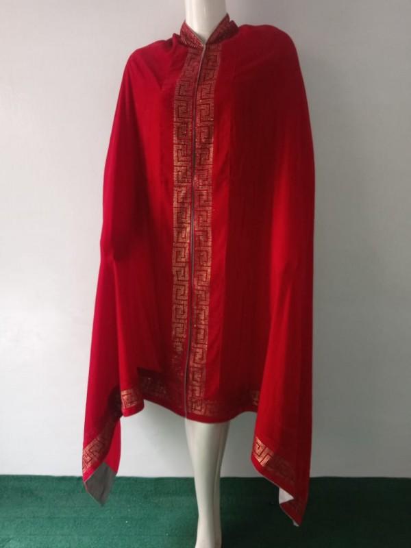 Swarovski Velvet Shawl Versace Design