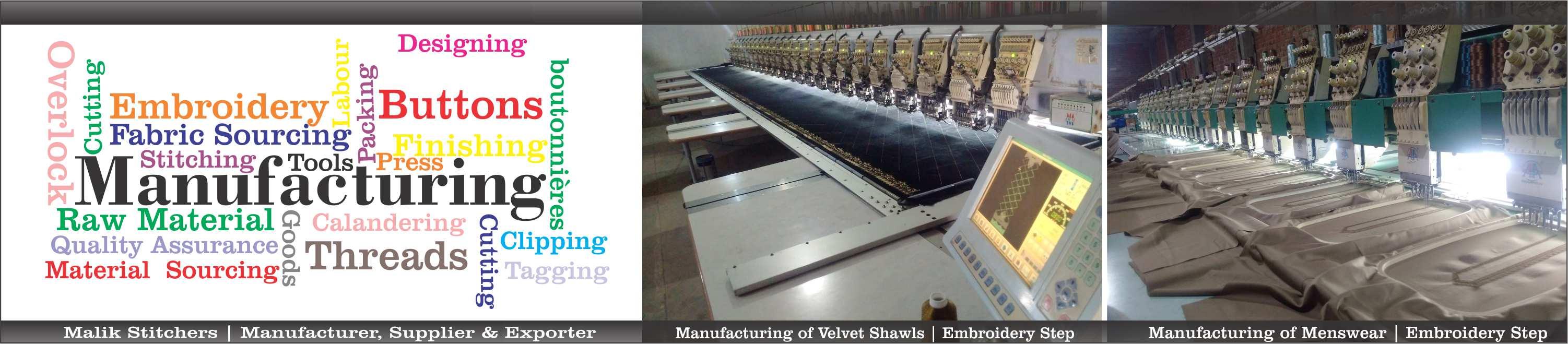 banner malik stitchers manufacturer supplier exporter of velvt shawls ladies wear in pakistan