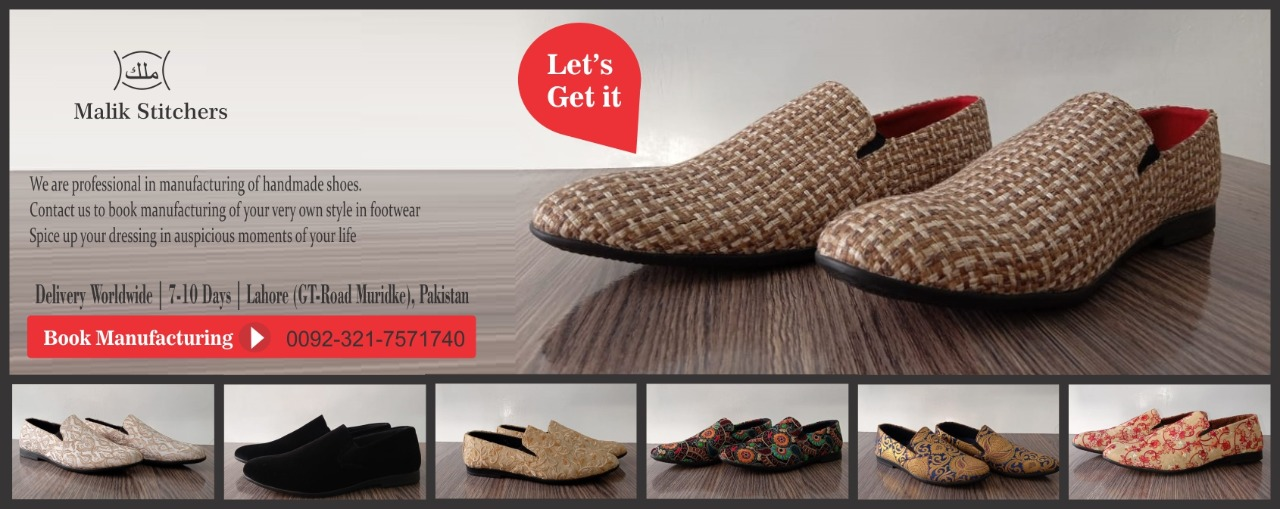 manufacturer maker of shoes in Pakistan